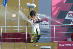 Podyum: Yarış galibi Valentino Rossi
