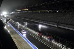 富士スピードウェイで行われたスーパー耐久夜間テスト