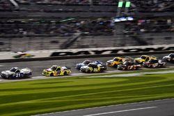 Johnny Sauter, GMS Racing, Allegiant Airlines Chevrolet Silverado, Matt Crafton, ThorSport Racing, F