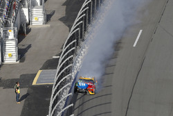 Kyle Busch, Joe Gibbs Racing Toyota crash