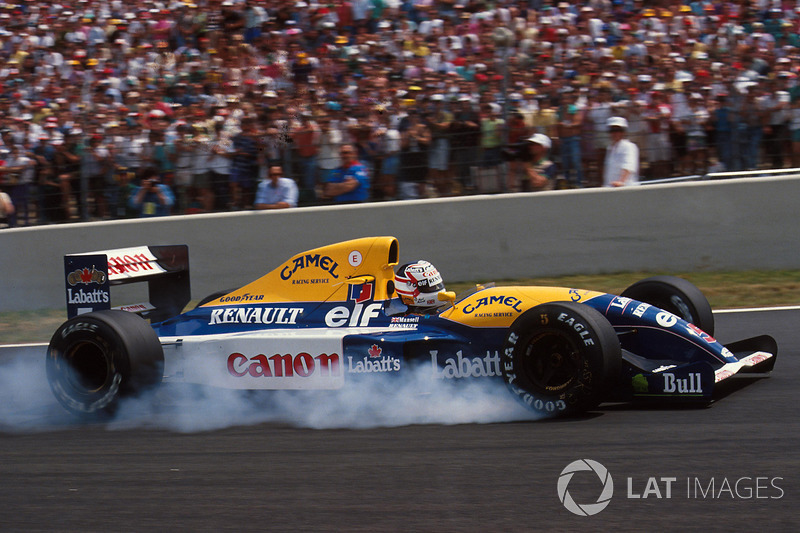 Nigel Mansell, Williams-Renault FW14, 1991