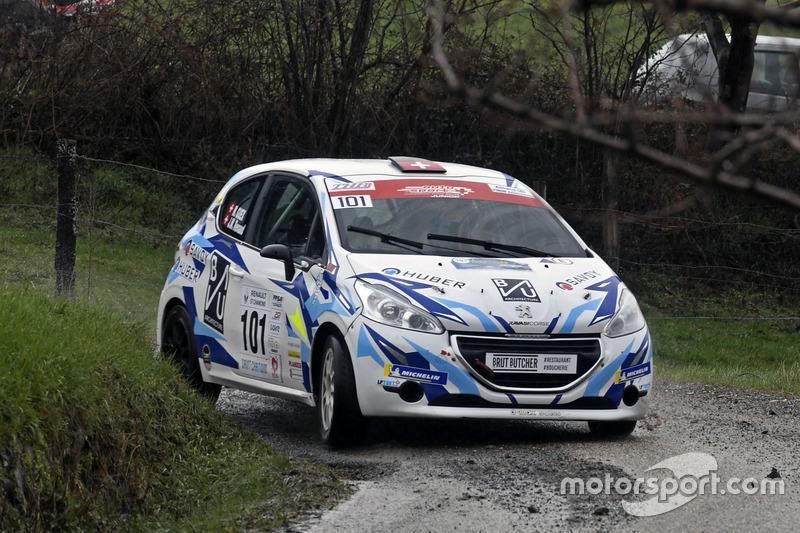 Jean-Marie Renaud, Manu Guex, Peugeot 208, D-MAX Swiss
