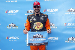 Polesitter Martin Truex Jr., Furniture Row Racing, Toyota Camry Bass Pro Shops/5-hour ENERGY