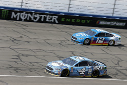 Kevin Harvick, Stewart-Haas Racing, Ford Fusion Busch Beer, Ryan Blaney, Team Penske, Ford Fusion PP