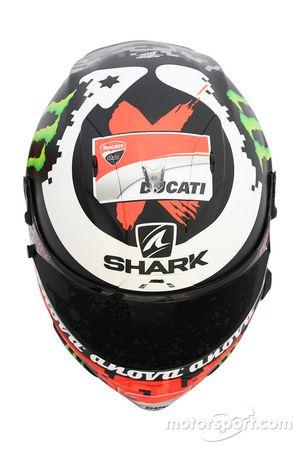 Il casco di Jorge Lorenzo, Ducati Team