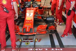 La Ferrari SF71H di Kimi Raikkonen