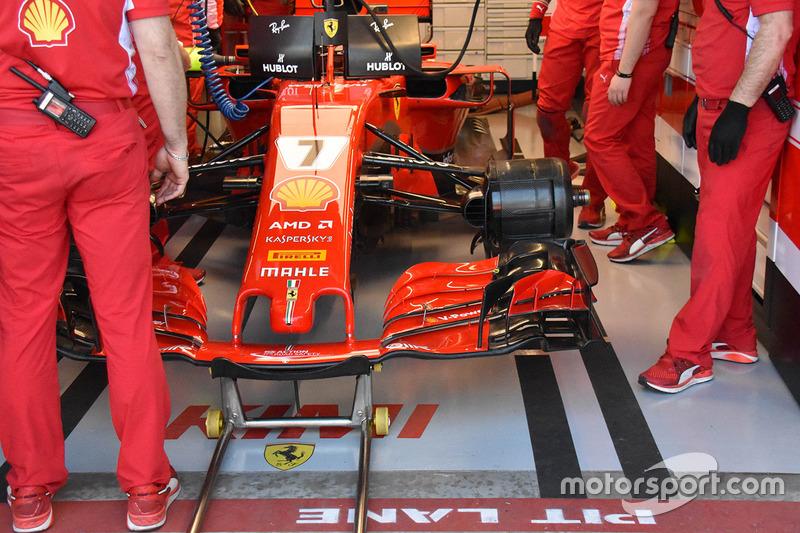 Передня частина Ferrari SF71H