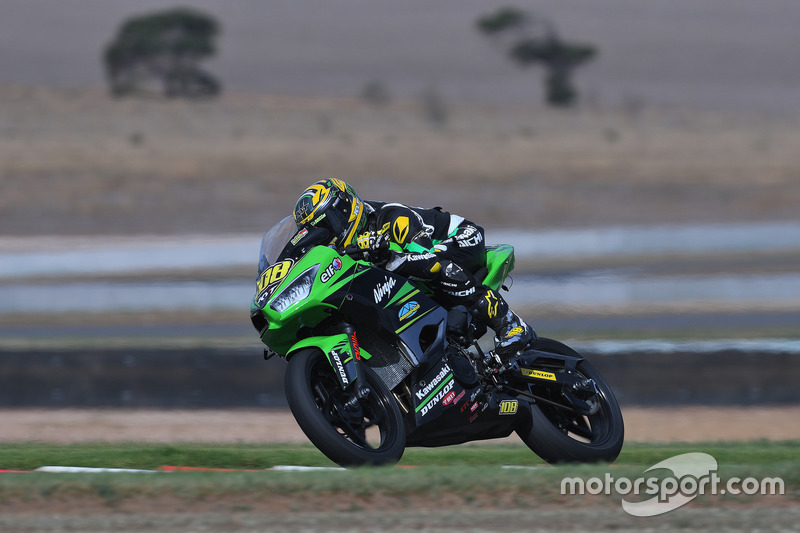AP250: AM Fadly, Manual Tech KYT Kawasaki Racing