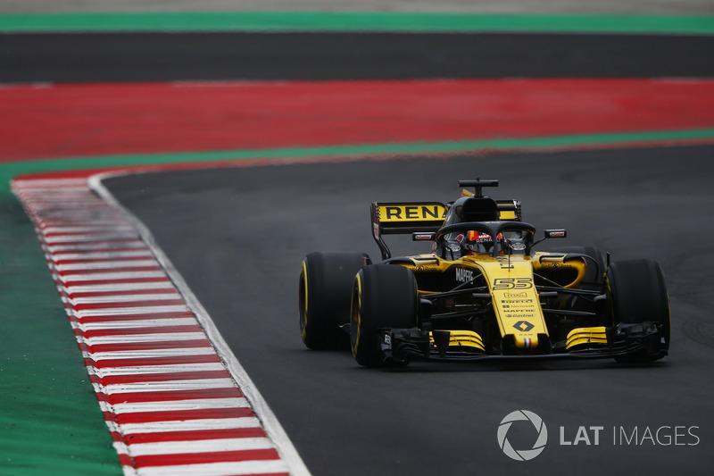 Carlos Sainz Jr., Renault Sport F1 Team Team R.S. 18