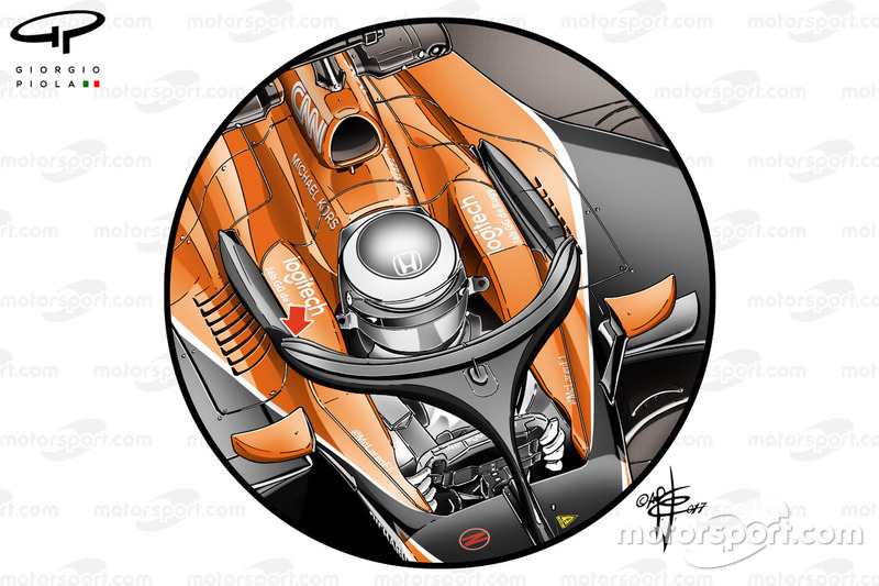 McLaren MCL32, Halo cockpit