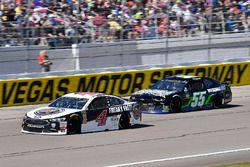 Kevin Harvick, Stewart-Haas Racing, Ford Fusion Jimmy John's, Joey Gase, Premium Motorsports, Chevro