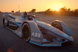 Машина Формулы Е нового поколения