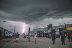 Rayo cerca del Daytona International Speedway