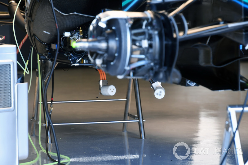 Mercedes-AMG F1 W09, dettaglio