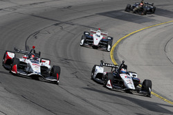 Graham Rahal, Rahal Letterman Lanigan Racing Honda, Marco Andretti, Herta - Andretti Autosport Honda