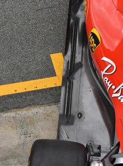 Ferrari SF71H rear floor