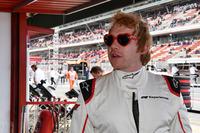 Rupert Grint en el coche de dos plazas F1 Experiences