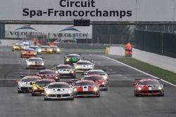 Trofeo Pirelli, partenza gara 2