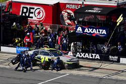 William Byron, Hendrick Motorsports, Chevrolet Camaro AXALTA/IMRON effettua un pit stop, Sunoco