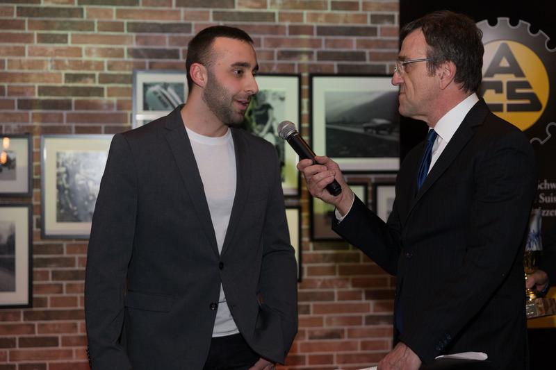 Kim Daldini intervistato da Roberto Gurian alla premiazione ACS 2017