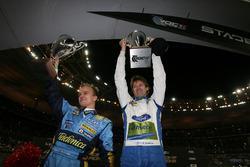 Heikki Kovalainen ve Marcus Gronholm