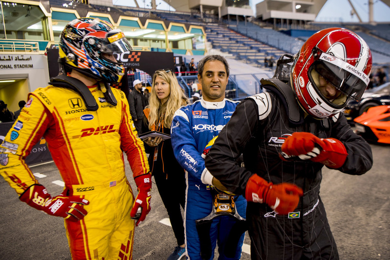 Ryan Hunter-Reay, Juan Pablo Montoya, Helio Castroneves