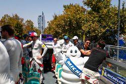 Mitch Evans, Jaguar Racing, Jérôme d'Ambrosio, Dragon Racing, Daniel Abt, Audi Sport ABT Schaeffler,