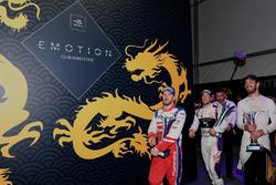 Nick Heidfeld, Mahindra Racing, Sam Bird, DS Virgin Racing, Jean-Eric Vergne, Techeetah