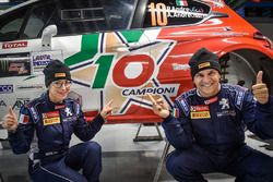 Paolo Andreucci, Anna Andreussi, Peugeot 208 T16
