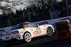Массимо Брега и Клаудио Бильери, 124 Abarth Rally