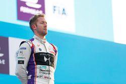 Sam Bird, DS Virgin Racing, sur le podium