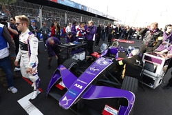 Sam Bird, DS Virgin Racing, sur la grille