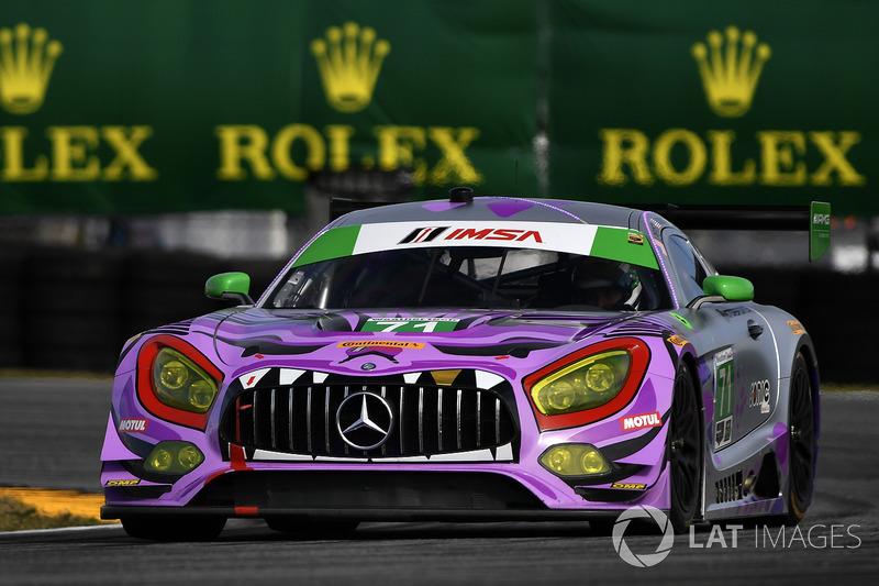 12. GTD: #71 P1 Motorsports, Mercedes AMG GT3