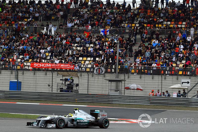 Nico Rosberg, Mercedes AMG F1 W03