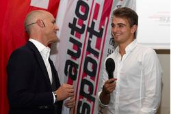 Nico Müller à la cérémonie des champions de ASS à Berne