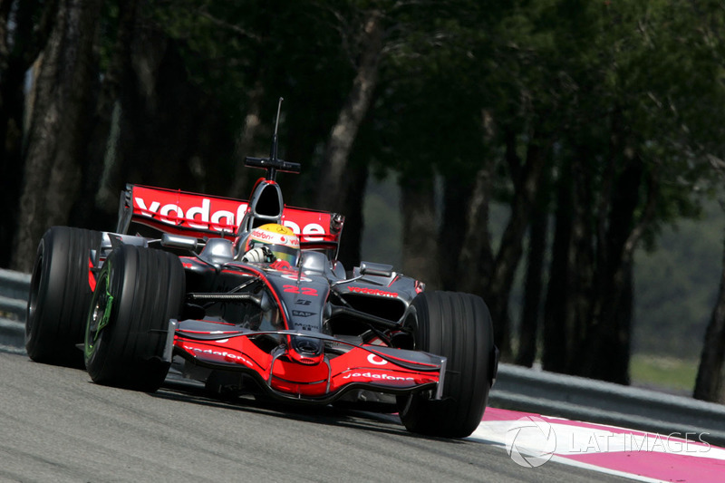 Lewis Hamilton, McLaren MP4/23 (2008)