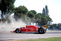 Gilles Villeneuve, Ferrari 126C with Turbo engine