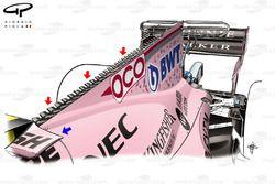 Force India VJM10 motorkap, Singapore