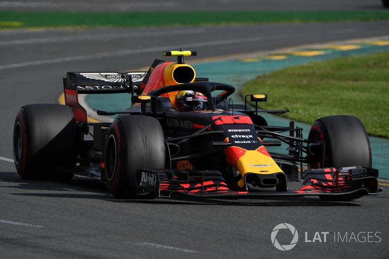 Ricciardo wilde pushen tot het eind van de race om een podium te pakken