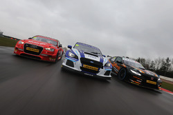 Ollie Jackson, AmD Tuning Audi S3, Jason Plato, Team BMR Subaru Levorg and Dan Cammish, Team Dynamic
