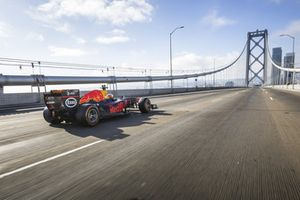 Daniel Ricciardo, Red Bull Racing, à San Francisco