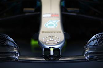 Mercedes AMG F1 W09 nose