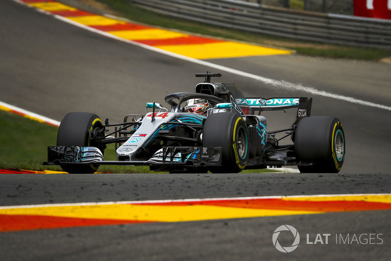 Vueltas lideradas: Lewis Hamilton 31%