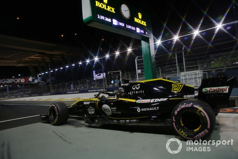 10. Nico Hulkenberg, Renault Sport F1 Team R.S. 18