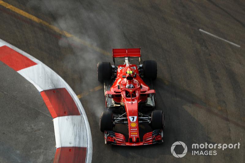 5: Кими Райкконен, Ferrari SF71H