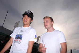 大嶋和也とフェリックス・ローゼンクヴィスト
