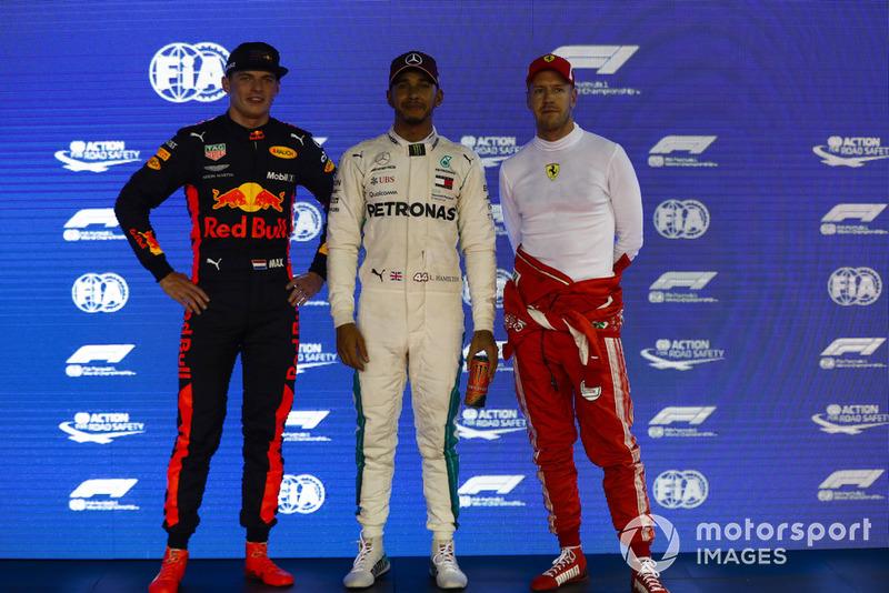 Max Verstappen, Red Bull Racing, Lewis Hamilton, Mercedes AMG F1, Sebastian Vettel, Ferrari