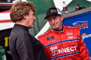 Bill Elliott, GMS Racing, Chevrolet Camaro ISM Connect and Boris Said