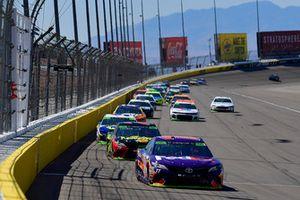 Denny Hamlin, Joe Gibbs Racing, Toyota Camry FedEx Ground, Martin Truex Jr., Furniture Row Racing, Toyota Camry 5-hour ENERGY