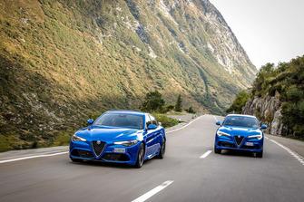 Alfa Romeo Giulia Quadrifoglio e Stelvio Quadrifoglio
